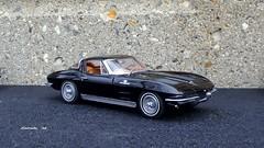 1963 Chevrolet Corvette Sting Ray Sport Coupe (JCarnutz) Tags: chevrolet stingray corvette 1963 diecast 124scale danburymint