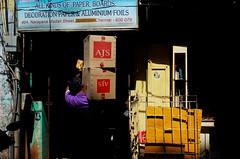 @ Parrys Corner, Chennai, 2016 (bmahesh) Tags: life street light shadow people india chennai ricohgr tamilnadu parryscorner wwwmaheshbcom