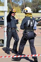 On the ground (adelaidefire) Tags: port fire south australian service years sa metropolitan brigade mfs 125 pirie samfs safb