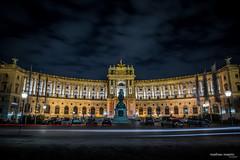 Hofburg Vienna 2016 (mathiasmajetic1) Tags: vienna wien night austria nikon nacht traveling landschaft kamera hofburg landscap langzeitbelichtung traumhaft nikod610
