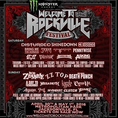 Who's going to #WelcomeToRockville #Shinedown @Shinedown (ShinedownsNation) Tags: zach eric bass nation smith barry brent myers shinedown kerch shinedowns