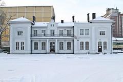 Filipstad 2012-12-09 (Michael Erhardsson) Tags: station vinter december sn filipstad 2012 vrmland fid jrnvgsstation