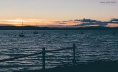 Fairlie Sunset #02 (itsjamesy) Tags: sunset mountain seascape landscape gold scotland nikon kodak north scottish isle arran millport ayrshire largs jamesy fairlie cumbrae hunterston nikon1224mm d7100 vsco