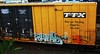 erupto '03 (timetomakethepasta) Tags: train graffiti dirty boxcar sws d30 freight deface thirty erupto tbox ttx sworn a2m