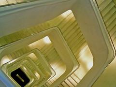 Feels like Escher (anselmoportes) Tags: madrid stairs spain espanha steps indoor staircase escada escher degraus