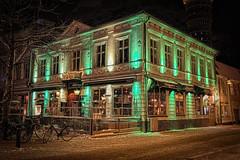 Nightshot from Kalmar VII (A.Husvaer) Tags: pub nightshot sweden nik hdr kalmar krøgers