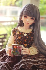 warm latte in the morning (mari.furtado) Tags: doll bonnie bjd msd souldoll