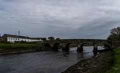 Glyde Bridge from downriver (swordscookie back and trying to catch up!) Tags: bridge trees ireland sea irish food lighthouse white fish beach water strand sediment vikings tidal banks settlement raids annagassan colouth glyderiver distillerybrewery