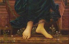 Burne-Jones, Hope (detail)