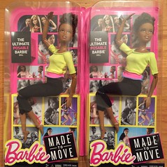 Yippy! Made to Move Yellow Top (Foxy Belle) Tags: black yellow doll box top african barbie move made american target packaging nib 2016
