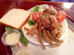 Baltimore - Fried Crab Sandwich (The Popular Consciousness) Tags: restaurant maryland crab sandwich baltimore fried faidleys