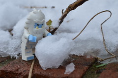 Do you want to build a Snowman? (Nesient42) Tags: winter snowman lego yeti abominable minifigures