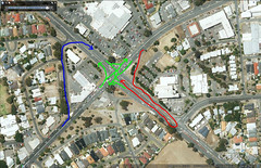 A10 North East Rd/Sudholz Rd intersection - Permitted directions (RS 1990) Tags: googlemaps australia adelaide intersection turns southaustralia a10 windsorgardens gillesplains northeastrd blacksrd sudholzrd