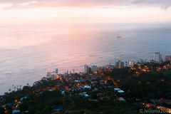 -10 (Aiganaiguy) Tags: longexposure mountain nature landscape hawaii waikiki hiking crater diamondhead bluehour goldenhour