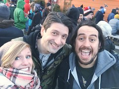 I was tagged on FB! -#mittenfest! Just hangin around outside, drinkin for 4 hours in 33 degree weather, NBD. -Autosaved (kisluvkis) Tags: julie fb tagged facebook ifttt