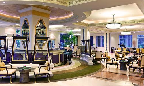 De lobby lounge van Dusit Thani Hua Hin
