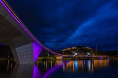 Adelaide Oval Footbridge (Michael Waterhouse Photography) Tags: