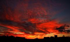 DSCF0727 (didbo69) Tags: sunset sky sun clouds sunrise rising sunny redsky fiery fier redclouds fierysky flamy