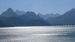 Fifty shades (rimerbl) Tags: leica light espaa lake mountains reflection spain reservoir castillaylen mountainridge riao embalsederiao leicadlux6 dlux6
