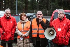 10.02.2016   Tarifdemo Holz und Kunststoff, Bocholt/NRW (IG Metall) Tags: holz metall ig kunststoff igmetall warnstreik tarif tarifverhandlungen beschftigte