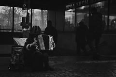 Unknown (EyeC4ndy) Tags: street bw white black film st analog photography 50mm russia 4 8 petersburg 400 pan jupiter kiev ilford