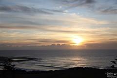 0D6A6217 - Sunrise (Stephen Baldwin Photography) Tags: ocean trees sea sun beach water clouds sunrise newcastle surf waterfront australia baths nsw