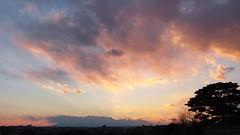 #6717 sunset and clouds (Nemo's great uncle) Tags: sunset  setagaya  setagayaku tky  seij  fujimibashi