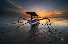 Jukung Lover (Jose Hamra Images) Tags: sunset bali sunrise landscape denpasar sanur pantaikarang karangbeach