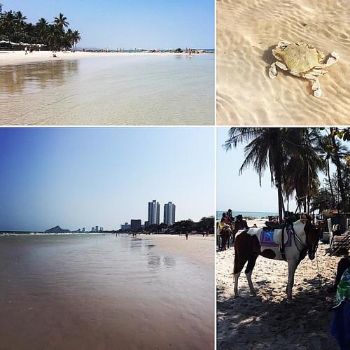 Hua Hin beach ! #thailand #beach #huahin #sun