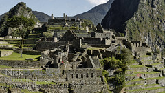 Looking out from the Ruins at Machu Picchu (Visual360.co.uk) Tags: travel panorama peru archaeology southamerica inca landscape highresolution traveller adventure andes machupicchu archaeological excursion traveler toursim wonderofworld