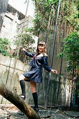 42380011 (WANGYANZHI) Tags: people cute art girl canon iso100 kodak taiwan 100 eos5     ektar  ximen 24mm105mm sgima   ektar100
