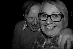 Joy. . . A Portrait of Joy. . . (CWhatPhotos) Tags: pictures camera shadow two portrait woman man love smile face sepia dark that happy photography glasses foto shadows durham view faces image artistic pics head joy wide picture smiles happiness pic tint olympus images have photographs together photograph fotos heads laugh specs below which contain omd em10 smilers cwhatphotos