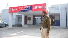 Inaugurating state-of-the-art building of Mattewal Police Station - Bikram Singh Majithia (1) (BikramSMajithia) Tags: station police punjab development stateoftheart inaugurating akalidal bikramsinghmajithia