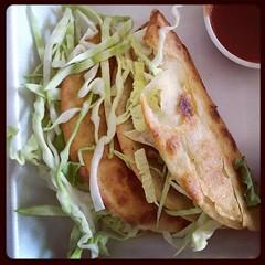 #fish #tacos #fishtacos #food #eat #gilbert #arizona #thecoffeeshop (Lainey1) Tags: food fish square tacos eat squareformat cabbage hudson fishtacos lainey1 iphoneography instagramapp uploaded:by=instagram elainedudzinski