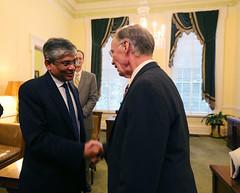 02-23-2016 Meeting with Ambassador of India
