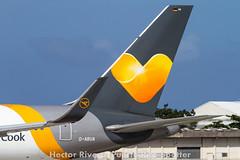 Condor (Thomas Cook) Boeing 767-330/ER  D-ABUA (cn 26991/455) San Juan - Luis Munoz Marin International (Isla Verde) (SJU / TJSJ) Puerto Rico, December 5, 2015 (Hector A Rivera Valentin) Tags: 2015 december5 condorthomascookboeing767330erdabuacn26991455sanjuanluismunozmarininternationalislaverdesjutjsjpuertorico