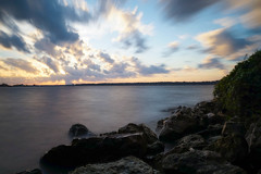 Windy Afternoon in Florida (+Lonnie & Lou+) Tags: longexposure travel sunset sky usa lake nature water clouds river day florida sony jacksonville tennant a7r