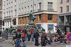 2013 Oostenrijk 1049 Wenen (porochelt) Tags: vienna wien austria oostenrijk österreich viena vienne autriche wenen neuermarkt donnerbrunnen viene