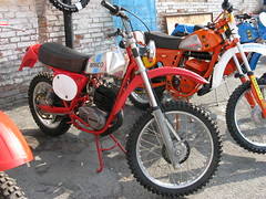 Acqui Terme (NW Italy), Mostra Scambio Moto 2008 (photobeppus) Tags: classic vintage offroad bikes vehicles motorbikes maico acquiterme motociclette mostrascambiomoto2008