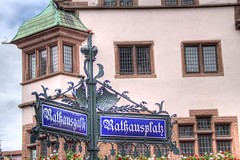 Friburgo, plaza del ayuntamiento. (JuanmaMateos) Tags: alemania friburgo photomatix ecologica pseudohdr juanmamateos