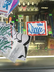 Super Sticky submissions (leaveyourmarksac) Tags: leave graffiti sticker mark sac your sacramento slap graff redes