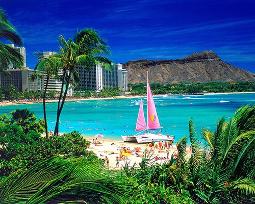 Giảm 5 triệu đồng cho tour thiên đường biển Hawaii