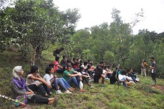 Sit in at Shola grassland (mansi-shah) Tags: rainforest farming coorg madikeri forestecology mansishah rainforestretreat jenniferpierce ceptsummerschool