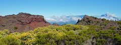 Cratre Commerson, Piton de la Fournaise (Ji-) Tags: world panorama france heritage reunion landscape island ngc indianocean unesco tropical fujifilm paysage fujinon vulcano mondial patrimoine volcan larunion pitondelafournaise ocanindien xt1 l cratrecommerson 2310m massifduvolcan xf16mmf14wr