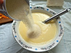 mannik-manka-s-sodoi-v-zhidkoe (Horosho.Gromko.) Tags: orange cooking cake baking апельсин кулинария ibake выпечка рецепт semolinacake манник фоторецепт якулинар яповар