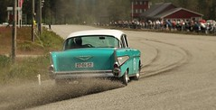 1957 Chevy on gravel (Jonas.W.) Tags: chevrolet belair samsung chevy 1957 57 57chevy magnor classicrace samsungnx300