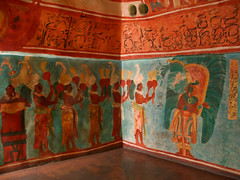 Templo Maya - Museo Nacional de Antopologa - Mxico D.F. (Juan Ig. Llana) Tags: mxico df mural pinturas chac museonacionaldeantropologia bosquedechapultepec templomaya