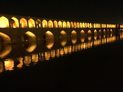 Si-o-Seh Bridge, Esfahan (Svenka Petrovi) Tags: travel bridge iran most esfahan isfahan