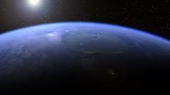 Morning over Olympus Mons (Kevin M. Gill) Tags: mars sunrise space future terraforming olympusmons livingmars