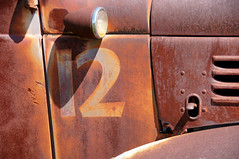 12 Below (nedlugr) Tags: california ca light rust shadows rusty number dodge crusty twelve parkfield dodgetruck